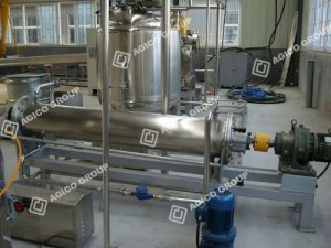 colloid grinder of peanut butter making machine